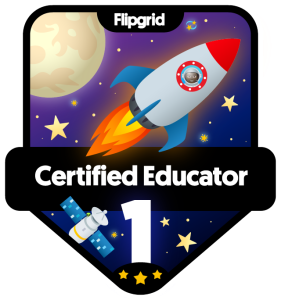 Flipgrid Certified Educator, Level 1